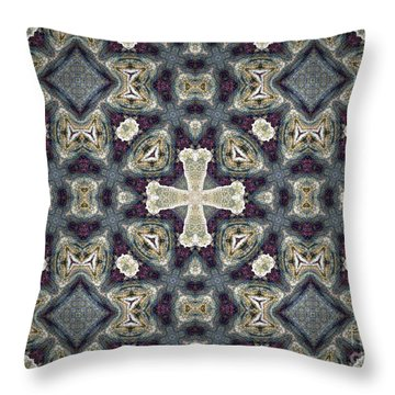 Byzantine Bliss Throw Pillow