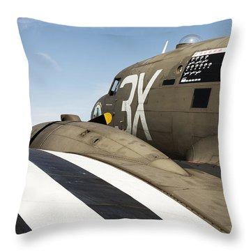 C-47  Throw Pillow