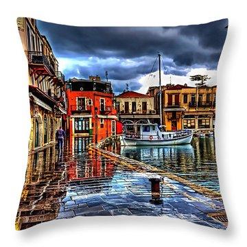 Cafe Collection Throw Pillow