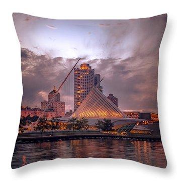 Calatrava Drama Throw Pillow