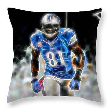 Calvin Johnson Collection Throw Pillow