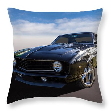 Throw Pillow featuring the photograph Camaro by Keith Hawley