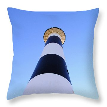 Canaveral Light Throw Pillow by Allan  Hughes