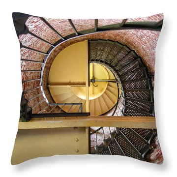Cape Blanco Lighthouse Throw Pillow
