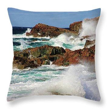 Cape Bonavista, Newfoundland Throw Pillow