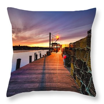 Cape Porpoise Throw Pillow