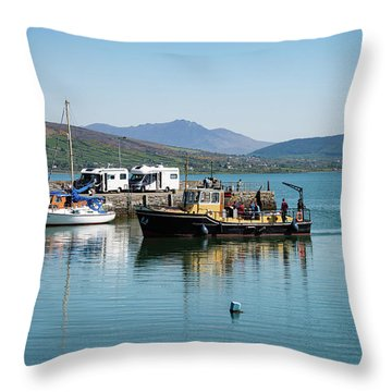 Carlingford Lough Throw Pillow
