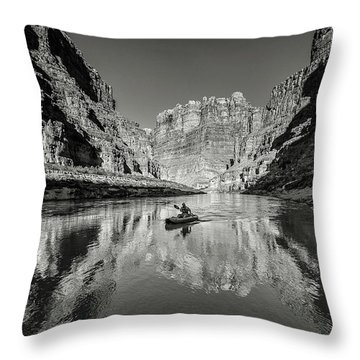 Cataract Canyon Throw Pillow