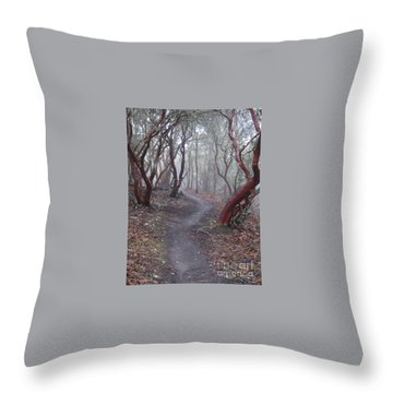 Cathedral Hills Serenity Throw Pillow by Marie Neder