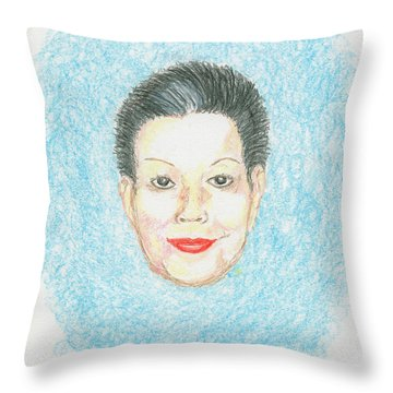 Catherine The Great Throw Pillow