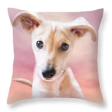 Ceecee Throw Pillow by Carol Cavalaris
