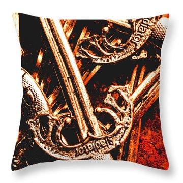 Sword Throw Pillows
