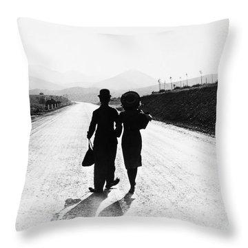 Modern Times 1936 Throw Pillow