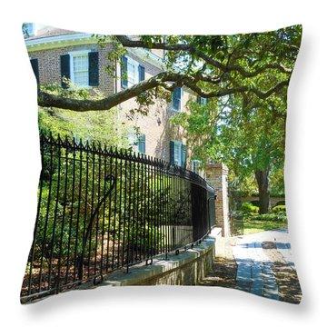 Charming Charleston Throw Pillow