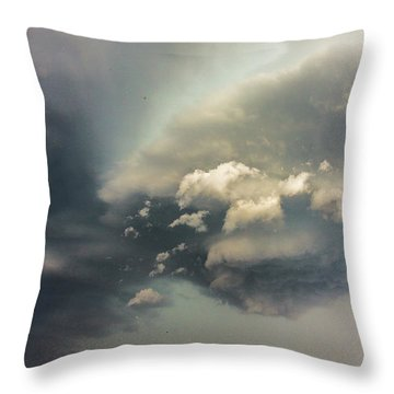 Another Stellar Storm Chasing Day 019 Throw Pillow