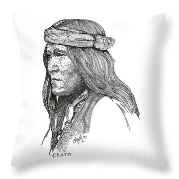 Chato Throw Pillow
