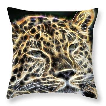 Cheetah Collection Throw Pillow
