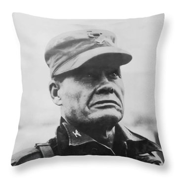 Chesty Puller Throw Pillow