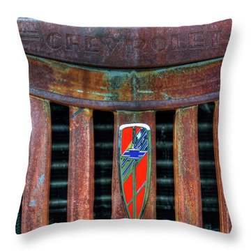 Chevrolet Throw Pillow
