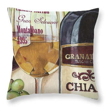 Chianti Rufina Throw Pillow