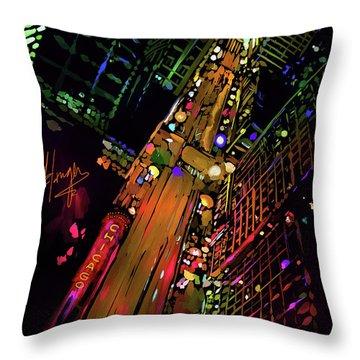Chicago Throw Pillow