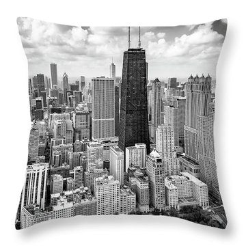 Throw Pillow featuring the photograph Chicago's Gold Coast by Adam Romanowicz