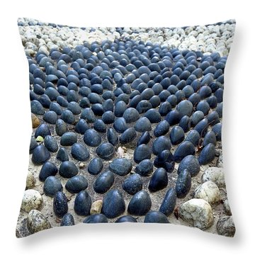 Throw Pillow featuring the photograph Chinese Health Path by Yali Shi