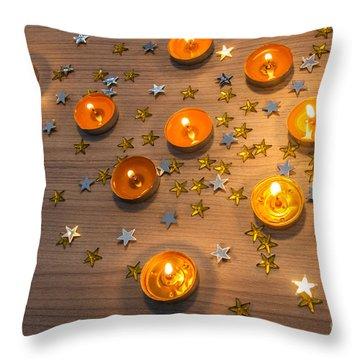 Fire Ball Throw Pillows