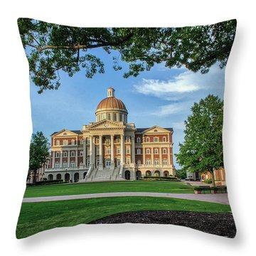 Christopher Newport Hall Throw Pillow