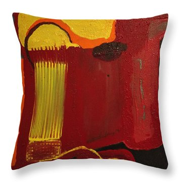 Christ's Profile Throw Pillow