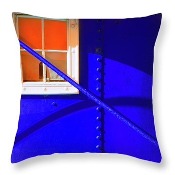 Throw Pillow featuring the photograph Chromatic by Wayne Sherriff