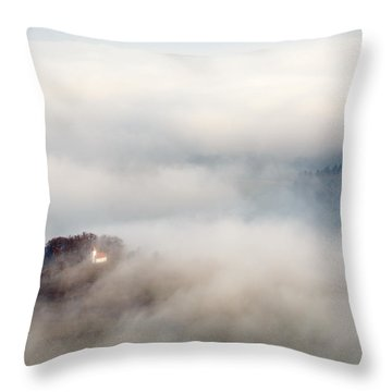 Church Of Saint Lawrence Throw Pillow