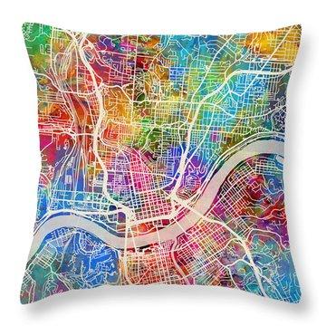Cincinnati Throw Pillows