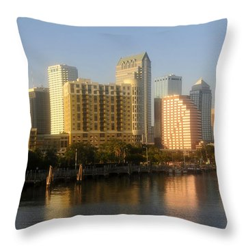 City By The Bay Throw Pillow by David Lee Thompson