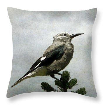 Clarks Nutcracker Throw Pillow by Krista-