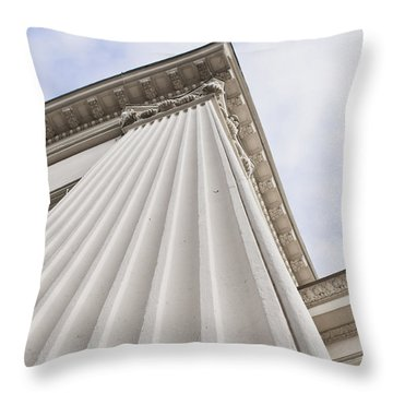 Classic Building Throw Pillow