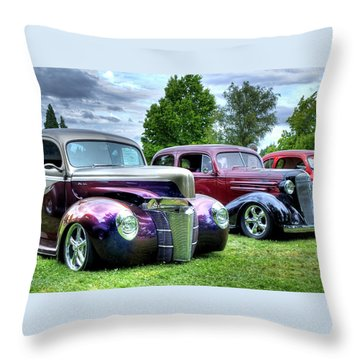 Classic Shine Throw Pillow
