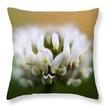 Clover Throw Pillow by Scott Pellegrin