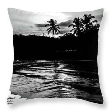 Coast Of Eden Throw Pillow