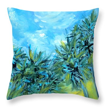 Collection Art  For Health And Life. Painting 10  Throw Pillow