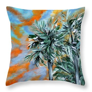 Collection. Art For Health And Life. Painting 2 Throw Pillow