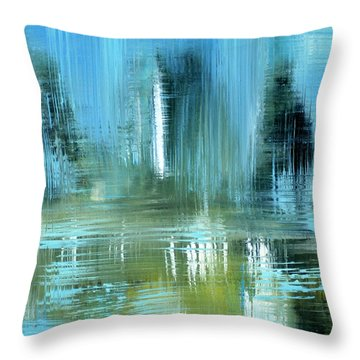 Original For Sale. Collection Art For Health And Life. Painting 9 Throw Pillow