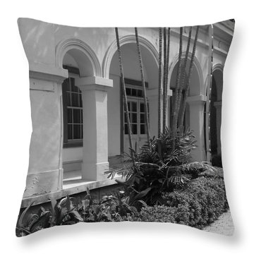 Colonial Architecture Throw Pillow by Yali Shi