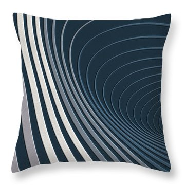 Color Harmonies - Mountain Mist Throw Pillow by Serge Averbukh