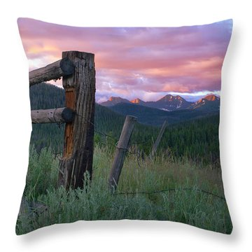 Colorado Glory Throw Pillow