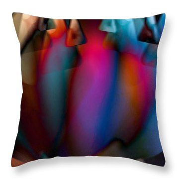 Colorful Dream Throw Pillow