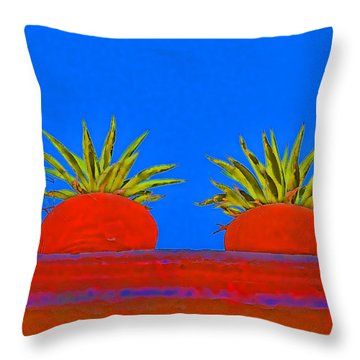 San Miguel De Allende Throw Pillows
