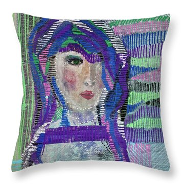 Complicated Woman Throw Pillow