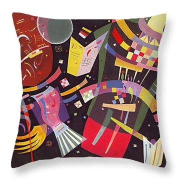 Composition X Throw Pillow