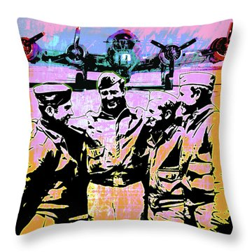 Comradeship Throw Pillow